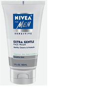 Nivea for Men Face Cleansing Face Wash, Extra Gentle for Sensitive Skin, 5 Fluid Ounces
