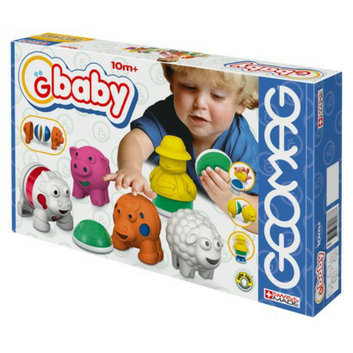 Reeves Geomag Gbaby Baby Farm - 19 Piece