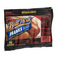 Ball Park Brand Franks - 16 CT