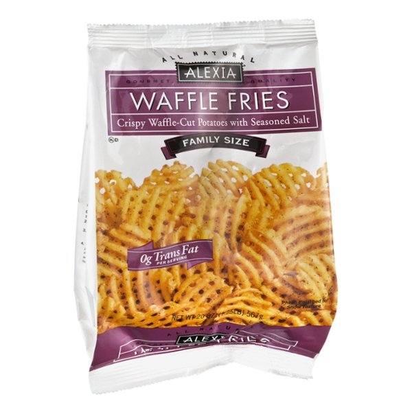 Alexia All Natural Waffle Fries with Seasoned Salt