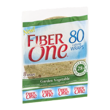 Fiber One 80 Calorie Wraps Garden Vegetable