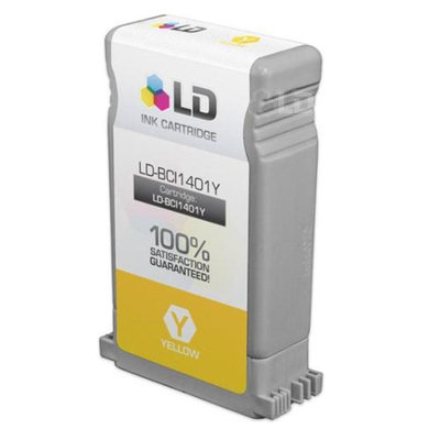 LD Canon BCI1401Y Yellow Compatible Inkjet Cartridge for imagePROGRAF W7250
