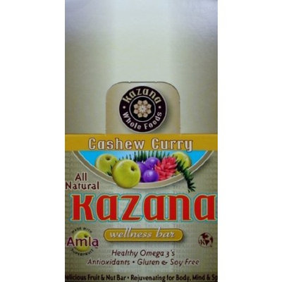 Kazana Wellness Bar, Cashew Curry, 16 Count