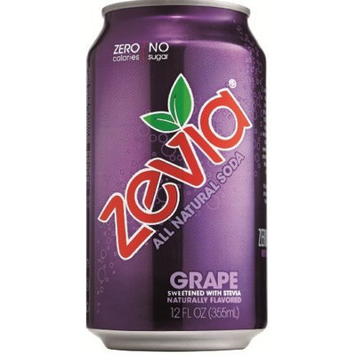 Zevia All Natural Grape Soda Soft Drink
