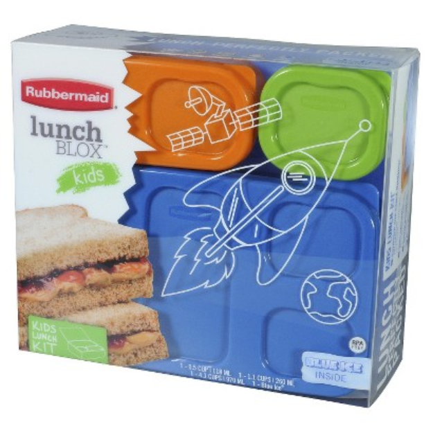Rubbermaid Lunchbox Boy Flat Pack