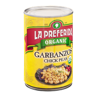 La Preferida Organic Garbanzos Chick Peas