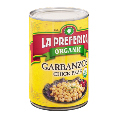 La Preferida Organic Garbanzos Chick Peas