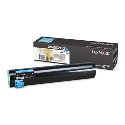 Lexmark X945X2CG Original Cyan High Yield Toner Cartridge