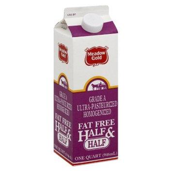 Dean Foods Meadow Gold Fat Free Half & Half 1 qt