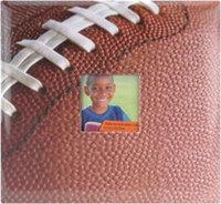 Mbi MBI Albums 12x12 Sport and Hobby Postbound Album - Football