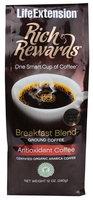 Life Extension Rich Rewards Ground Coffee Breakfast Blend Natural Vanilla 12 oz