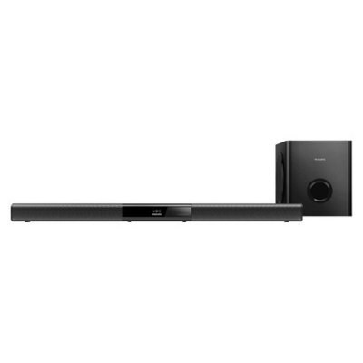 Philips Sonicare Philips Bluetooth Soundbar with Wireless Subwoofer - Black