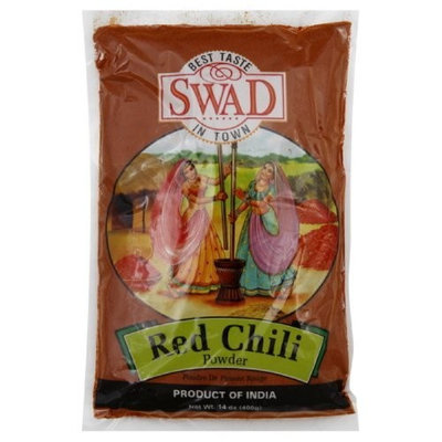 Swad Seasoning Chile Powder, 14-Ounce (Pack of 5)