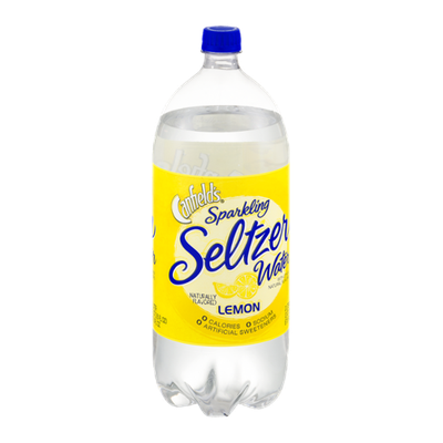 Canfield's Sparkling Seltzer Water Lemon