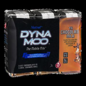 Natrel Dyna Moo 1% Chocolate Milk - 3 CT