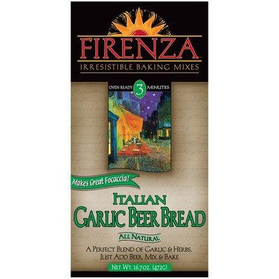 Firenza Italian Garlic Beer Bread Mix, 16.7 Ounce