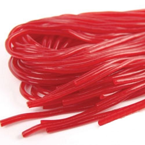 Kennys Kenny's Strawberry Red Licorice Laces Five 5.5 oz Packs