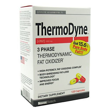Klein Becker Novex Biotech ThermoDyne 3 Phase Thermodynamic Fat Oxidizer, Capsules