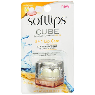 Softlips Cube Lip Protectant, SPF 15 Vanilla
