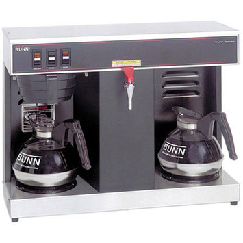 Bunn VLPF 12-Cup Automatic Commercial Coffee Brewer w/2 Warmers