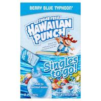 Hawaiian Punch Singles To Go Sugar Free Berry Blue Typhoon