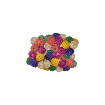 A & E Cage HB46569 Colored Vine Balls 2 In. - 100 Pack