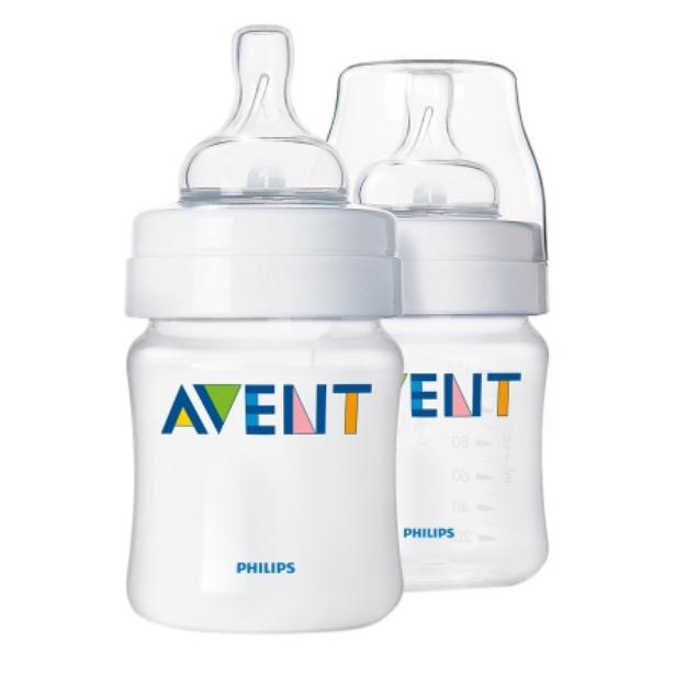 Avent Polypropylene BPA Free Baby Bottles