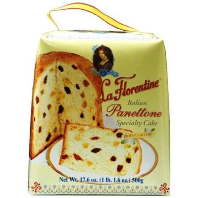 La Florentine Italian Specialty Cake, Panettone, 17.6 Ounce (Pack of 12)