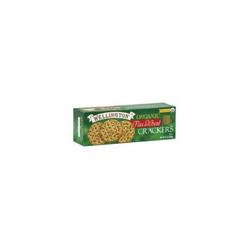 Wellington Organic Crackers, Flax and Wheat, 5.3 Ounce (Pack of 12)