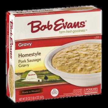 Bob Evans Homestyle Pork Sausage Gravy - 2 CT