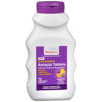 Walgreens Ultra Strength Antacid Chewable Tablets, Fruit, 72 ea