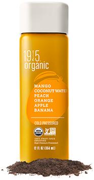 Bolthouse Farms 1915 Mango Coconut Water Peach Orange Apple Banana Organic
