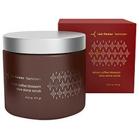 Red Flower Lemon Coffee Blossom Olive Stone Scrub