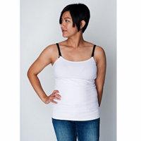 Undercover Mama Nursing Tank Top, Medium, White, 1 ea