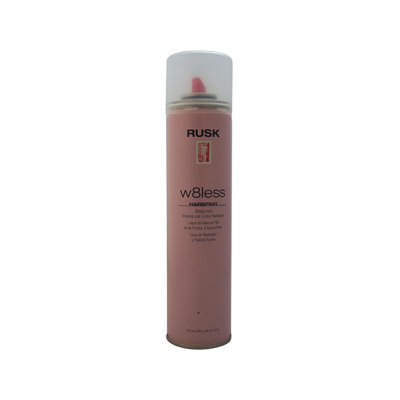 RUSK by Rusk W8LESS STRONG HOLD SHAPING & CONTROL HAIR SPRAY 10 OZ for UNISEX
