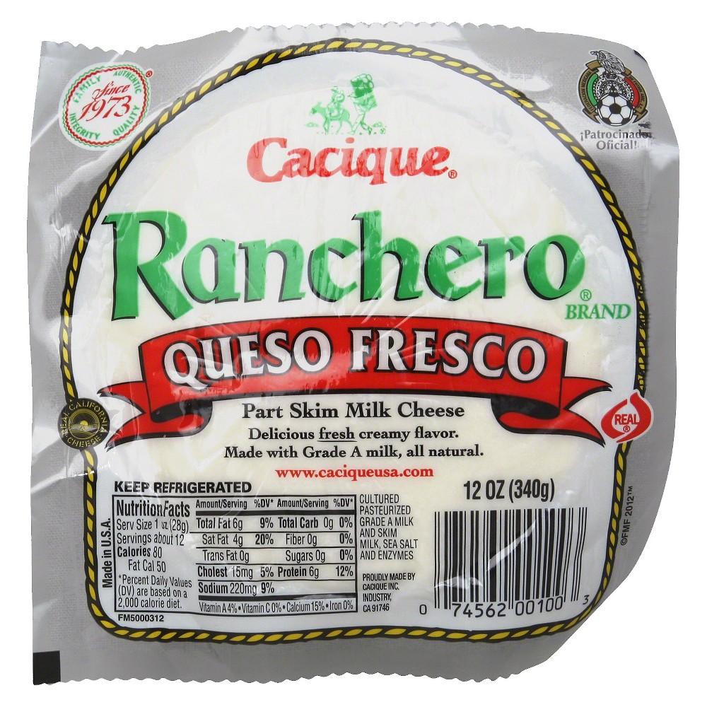 Cacique Ranchero Queso Fresco 12 oz