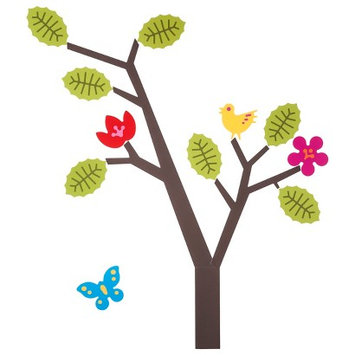 Wall Candy Arts Seasons Tree