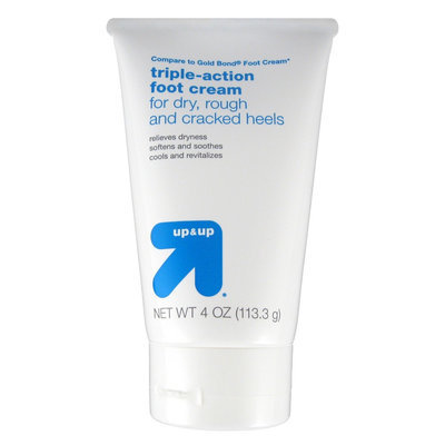 up & up Triple Action Foot Cream