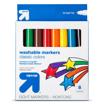 Up & Up Broad Washable Markers 8ct