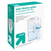 Mavea Llc Water Filtration Pitcher up & up