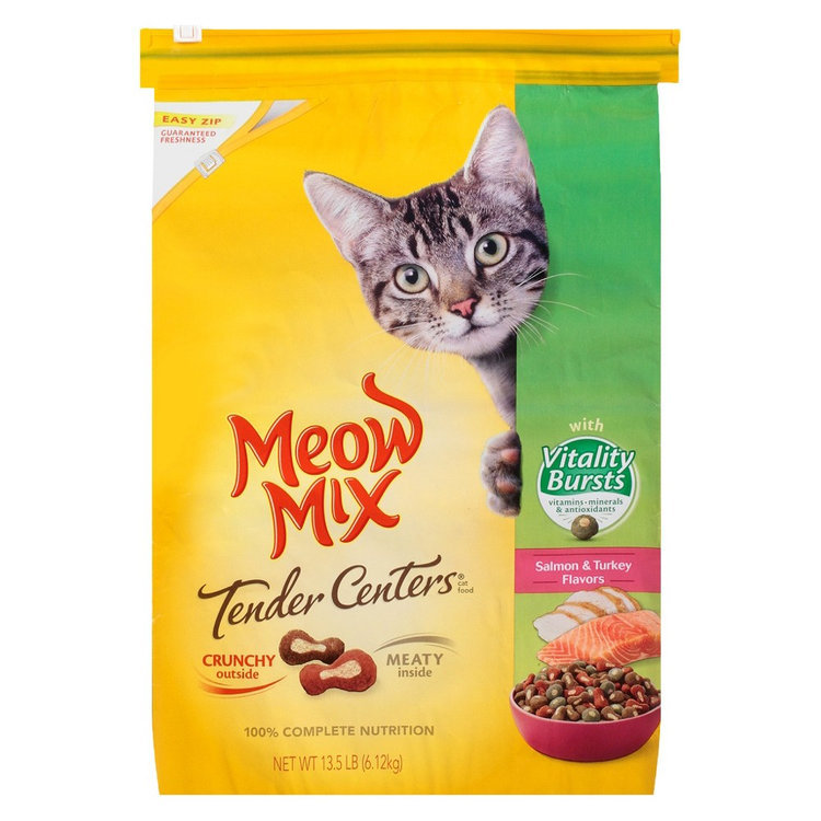Meow mix tender centers review