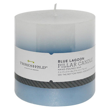 Threshold Scented Candle 3x3 - Blue Ombre