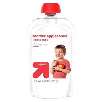 up & up Baby Food Toddler Applesauce - Cinnamon - 4.22 oz