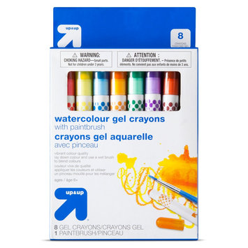 Up & Up Watercolor Gel Crayons 8ct
