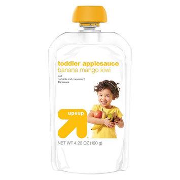 up & up Baby Food Toddler Applesauce - Banana Mango Kiwi - 4.22 oz