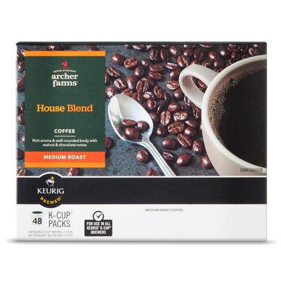 Mother Parkers Tea & Coffee Inc. Medium Roast House Blend Single Cups 48ct - Archer Farms