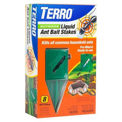Terro Outdoor Liquid Ant Bait Stakes 8-Pack