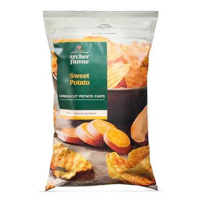 Archer Farms Crinkle-Cut Sweet Potato Chips 8 oz