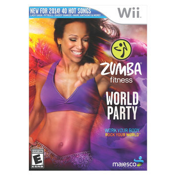 Majesco Zumba Fitness World Party - Fitness Game - Wii