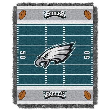Philadelphia Eagles Baby Jacquard Field Throw